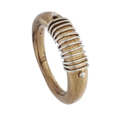 Anello Spirale Bronzo